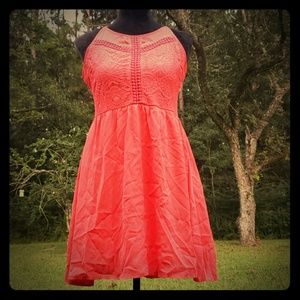 Dress with Detailed Bodice